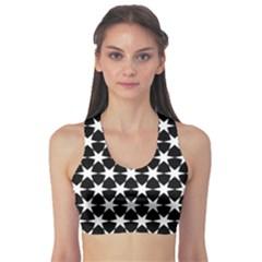 Star Egypt Pattern Sports Bra