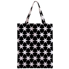 Star Egypt Pattern Zipper Classic Tote Bag