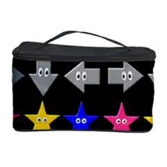 Cute Symbol Cosmetic Storage Case by Nexatart