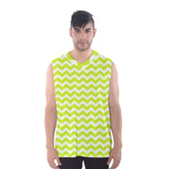 Chevron Background Patterns Men s Basketball Tank Top