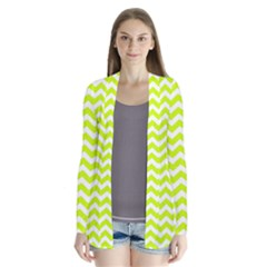 Chevron Background Patterns Cardigans