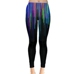 Rain Color Paint Rainbow Leggings  by Mariart