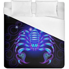 Sign Scorpio Zodiac Duvet Cover (king Size) by Mariart
