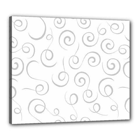 Pattern Canvas 24  X 20  by ValentinaDesign