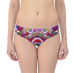 Hawaiian Poi Cartoon Dog Hipster Bikini Bottoms by pepitasart