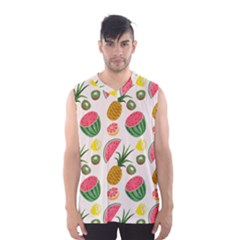Fruits Pattern Men s Basketball Tank Top