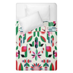 Abstract Peacock Duvet Cover Double Side (single Size)