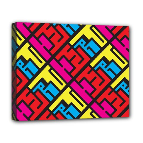 Hert Graffiti Pattern Deluxe Canvas 20  X 16