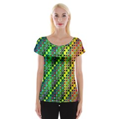 Patterns For Wallpaper Women s Cap Sleeve Top