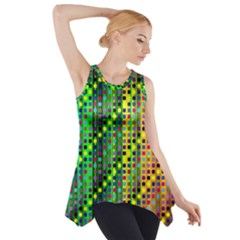 Patterns For Wallpaper Side Drop Tank Tunic