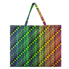 Patterns For Wallpaper Zipper Large Tote Bag by Nexatart