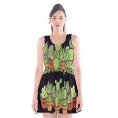 Cactus   Dont Be A Prick Scoop Neck Skater Dress