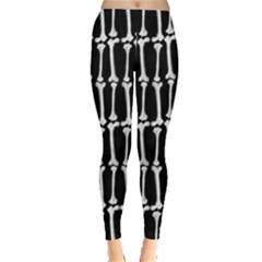 Bones  Leggings  by Valentinaart