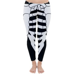 X Ray Classic Winter Leggings by Valentinaart
