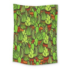 Cactus Medium Tapestry by Valentinaart