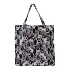 Cactus Grocery Tote Bag by Valentinaart