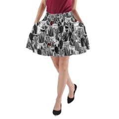 Cactus A Line Pocket Skirt by Valentinaart