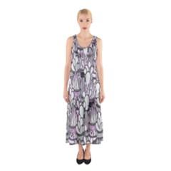 Cactus Sleeveless Maxi Dress by Valentinaart