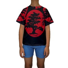 Bonsai Kids  Short Sleeve Swimwear by Valentinaart