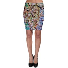 Abstract Background Wallpaper 1 Bodycon Skirt