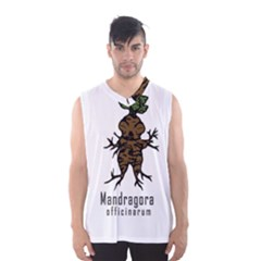 Mandrake Plant Men s Basketball Tank Top