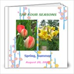 4 seasons - 8x8 Photo Book (30 pages)