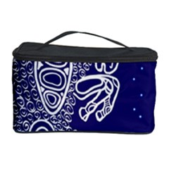 Aries Zodiac Star Cosmetic Storage Case by Mariart