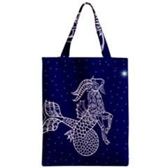 Capricorn Zodiac Star Classic Tote Bag by Mariart