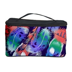 Bird Feathers Color Rainbow Animals Fly Cosmetic Storage Case by Mariart