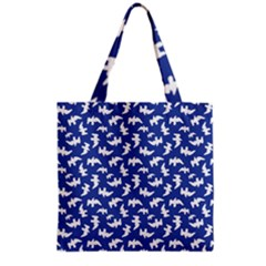 Birds Silhouette Pattern Grocery Tote Bag