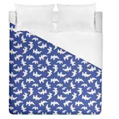 Birds Silhouette Pattern Duvet Cover (queen Size)