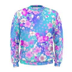 Flowers Cute Pattern Men s Sweatshirt