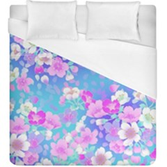 Flowers Cute Pattern Duvet Cover (king Size)