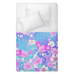 Flowers Cute Pattern Duvet Cover (single Size) by Nexatart