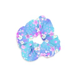 Flowers Cute Pattern Velvet Scrunchie