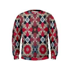 Beautiful Art Pattern Kids  Sweatshirt