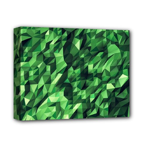Green Attack Deluxe Canvas 14  X 11  by Nexatart