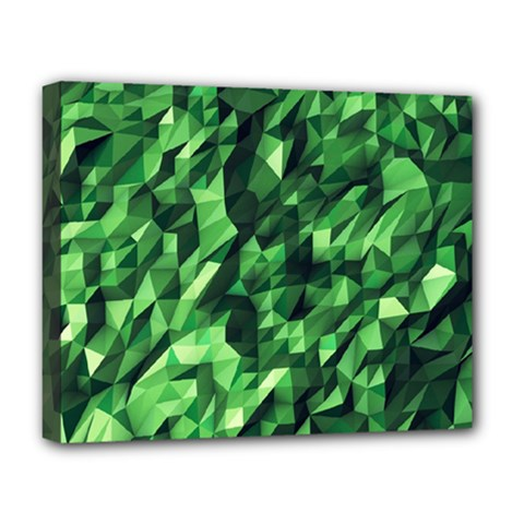 Green Attack Deluxe Canvas 20  X 16