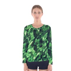 Green Attack Women s Long Sleeve Tee
