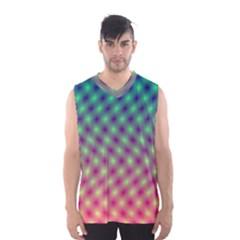Art Patterns Men s Basketball Tank Top