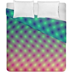 Art Patterns Duvet Cover Double Side (california King Size)