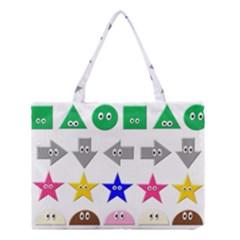 Cute Symbol Medium Tote Bag
