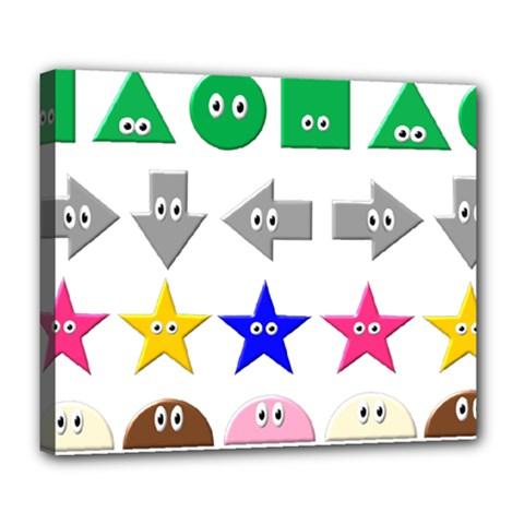 Cute Symbol Deluxe Canvas 24  x 20