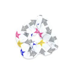 Cute Symbol Velvet Scrunchie