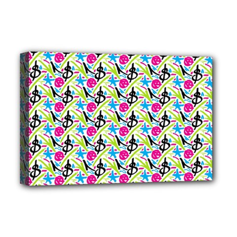 Cool Graffiti Patterns  Deluxe Canvas 18  X 12