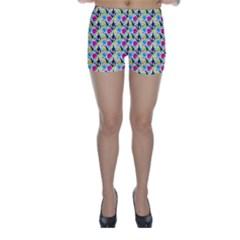 Cool Graffiti Patterns  Skinny Shorts by Nexatart