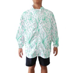 Pattern Floralgreen Wind Breaker (kids)