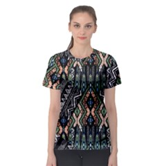 Ethnic Art Pattern Women s Sport Mesh Tee by Nexatart