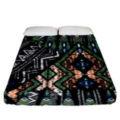Ethnic Art Pattern Fitted Sheet (king Size)