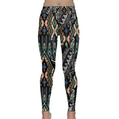 Ethnic Art Pattern Classic Yoga Leggings